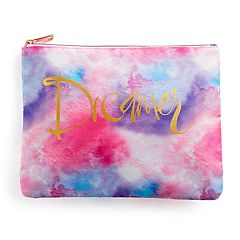 love this life Marbled 'Dreamer' Cosmetic Pouch