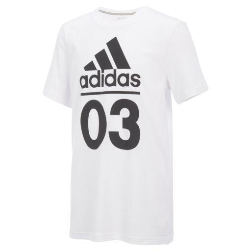 "Boys 8-20 adidas Logo ""03"" Graphic Tee"