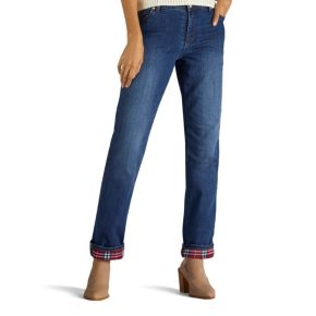 Women's Lee Relaxed Fit Lined Jeans