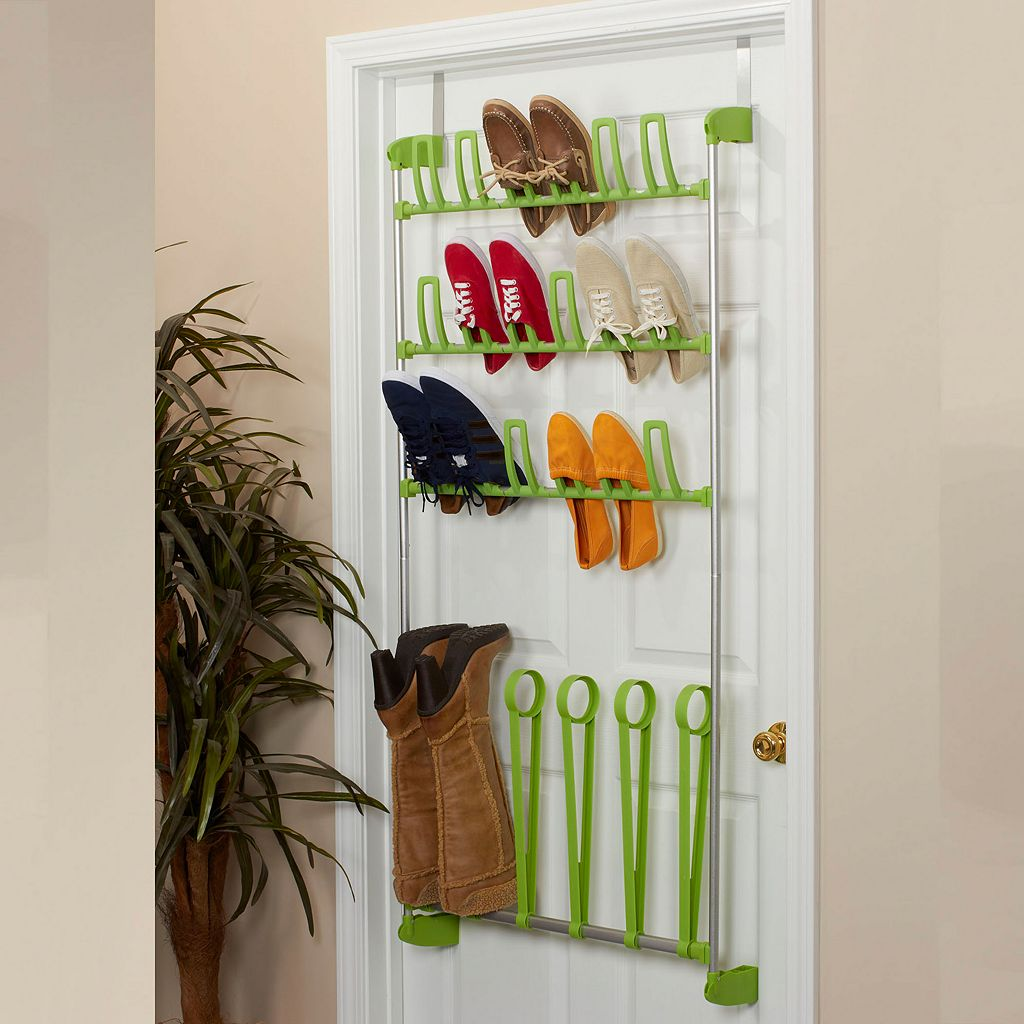 Household Essentials Over The Door Shoe Rack