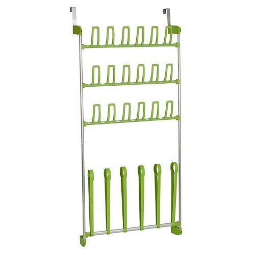 Household Essentials Over The Door Shoe Rack