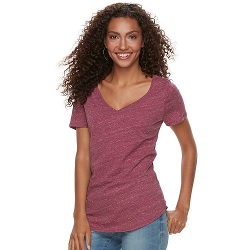 Women's SONOMA Goods for Life™ Essential V-Neck Tee