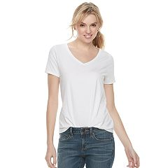 88f46bb0 Women's SONOMA Goods for Life™ Essential V-Neck Tee