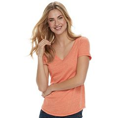 Women's SONOMA Goods for Life™ Essential V-Neck Tee
