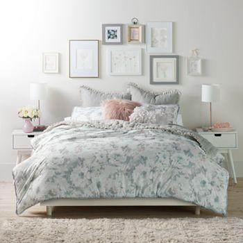 LC Lauren Conrad Ethereal Floral Duvet Cover Set