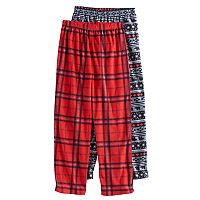 Boys 4-20 2-Pack Fleece Lounge Pants