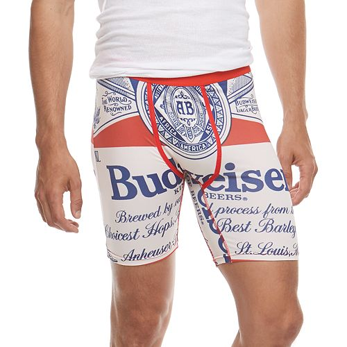 Men's Wear Your Life Budweiser Boxers