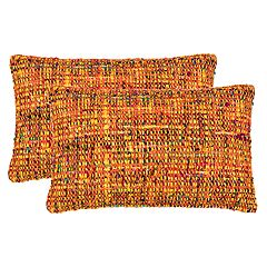 Safavieh Carrie Tweed Oblong Throw Pillow 2 pc Set