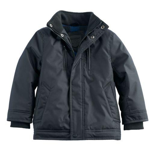 Toddler Boy Urban Republic Fleece Lined Heavyweight Jacket