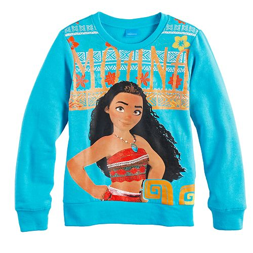 Disney's Moana Girls 7-16 Pullover