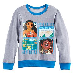 Disney's Moana Girls 7-16 Moana & Maui 'One Ocean One Heart' Pullover Sweatshirt