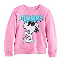 Girls 7-16 Snoopy Pullover Sweatshirt