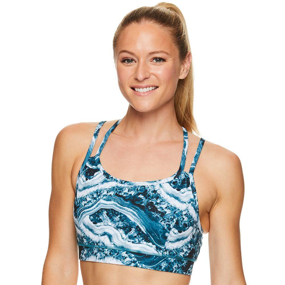 Gaiam Studio Yoga Medium-Impact Sports Bra GKW181BR24