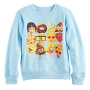 Girls 7-16 Emoji Movie Graphic Pullover Sweatshirt
