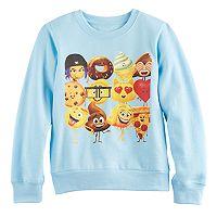 Girls 7-16 Emoji Movie Graphic Pullover Sweatshirt