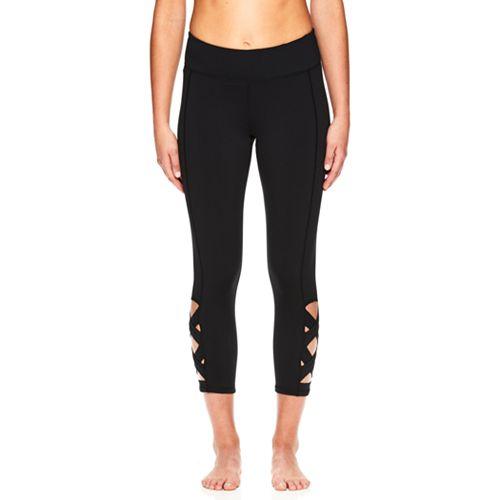 Women's Gaiam Om Lotus Yoga Capri Leggings