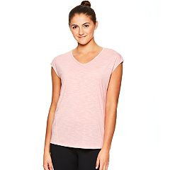 Women's Gaiam Petal Short Sleeve Yoga Top