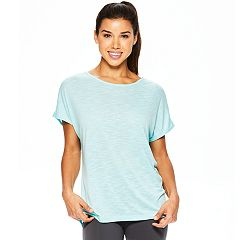 Women's Gaiam Poise Short Sleeve Yoga Top
