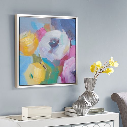Madison Park Colorful Bouquet Canvas Wall Art