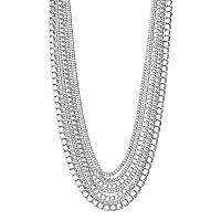 Napier Chain Multi Strand Necklace