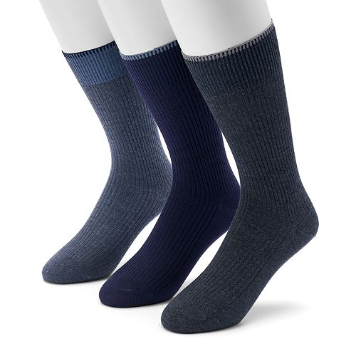 Men's Marc Anthony 3-pack Casual Crew Socks