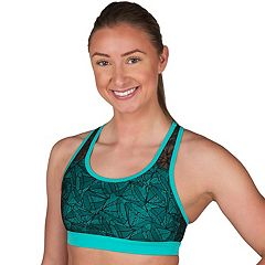 Jockey Sport Bras: Lace Mesh Low-Impact Sports Bra 9396