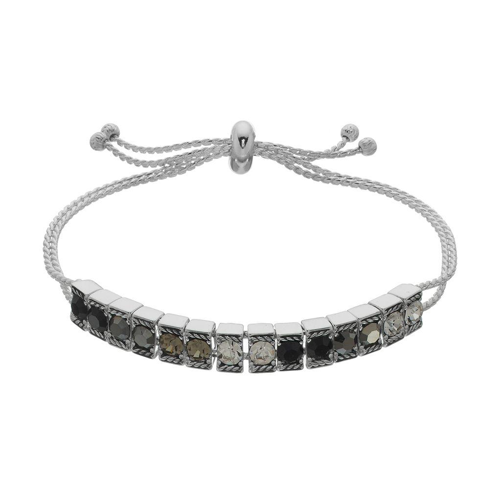Napier Ombre Stone Lariat Bracelet