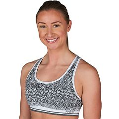 Jockey Sport Bras: Geo Jacquard Medium-Impact Sports Bra 9402