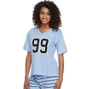 Juniors' SO® Pajamas: Short Sleeve Graphic Tee