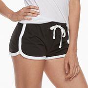 Juniors' SO® Pajamas: French Terry Shorts