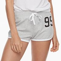 Juniors' SO® Pajamas: French Terry Shorts