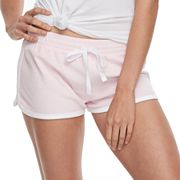 Juniors' SO® Pajamas: Velour Shorts