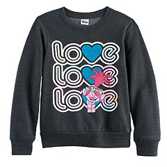 DreamWorks Trolls Poppy Girls 7-16 'Love Love Love' Graphic Pullover Sweatshirt