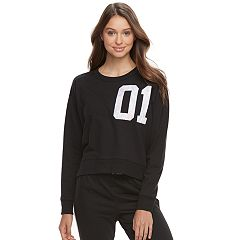 Juniors' SO® Pajamas: Graphic Sweatshirt
