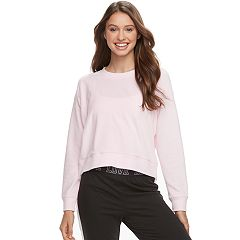 Juniors' SO® Pajamas: Velour Sweatshirt