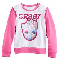 Girls 7-16 Groot Pullover Sweatshirt