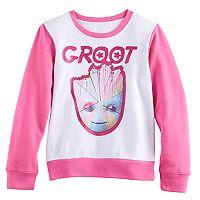 Girls 7-16 Groot Pullover Sweatshirt