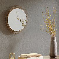 Madison Park Zoe Small Iron Circle Mirror