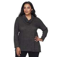 Plus Size Apt. 9® Ribbed Print Top