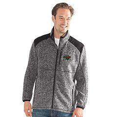 Men's Minnesota Wild Back Country Fleece Jacket