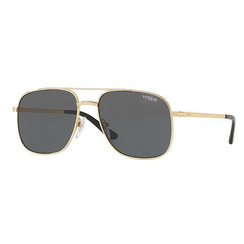 Gigi Hadid for Vogue VO4083S 55mm Square Pilot Sunglasses