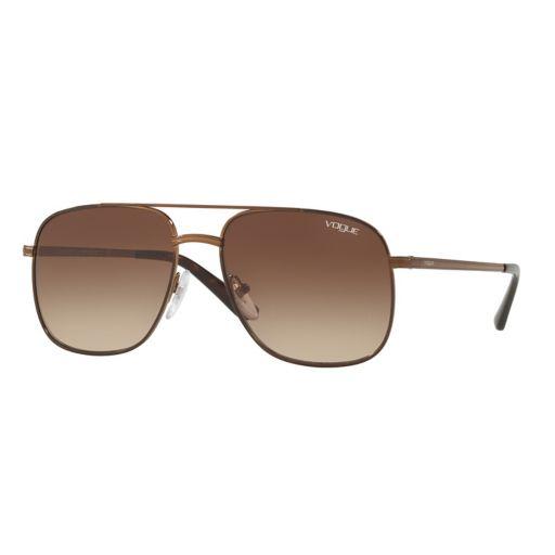 Gigi Hadid for Vogue VO4083S 55mm Square Pilot Gradient Sunglasses