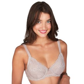 Juniors' Candie's® Bras: Lace Plunge Unlined Bra