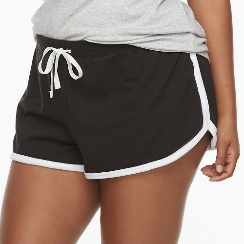 Juniors' Plus Size SO® Pajamas: French Terry Shorts