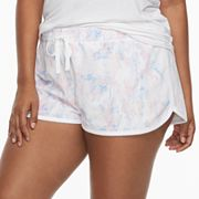 Juniors' Plus Size SO® Pajamas: Velour Shorts