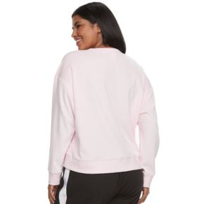 Juniors' Plus Size SO® Pajamas: Velour Sweatshirt