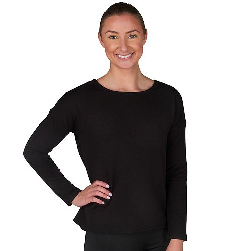 Women's Jockey Sport Flux Split Back Lounge Top