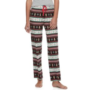 Juniors' SO® Open Hem Knit Pant