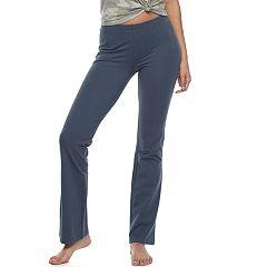Juniors' SO® Pajamas: Bootcut Yoga Pants