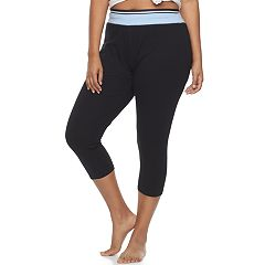 Juniors' Plus Size SO® Pajamas: Yoga Capri Leggings